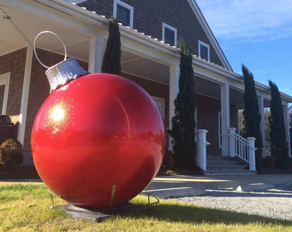 single ornaments 42 in.