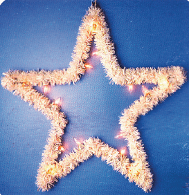 Five Point Tree Topper Star A-019