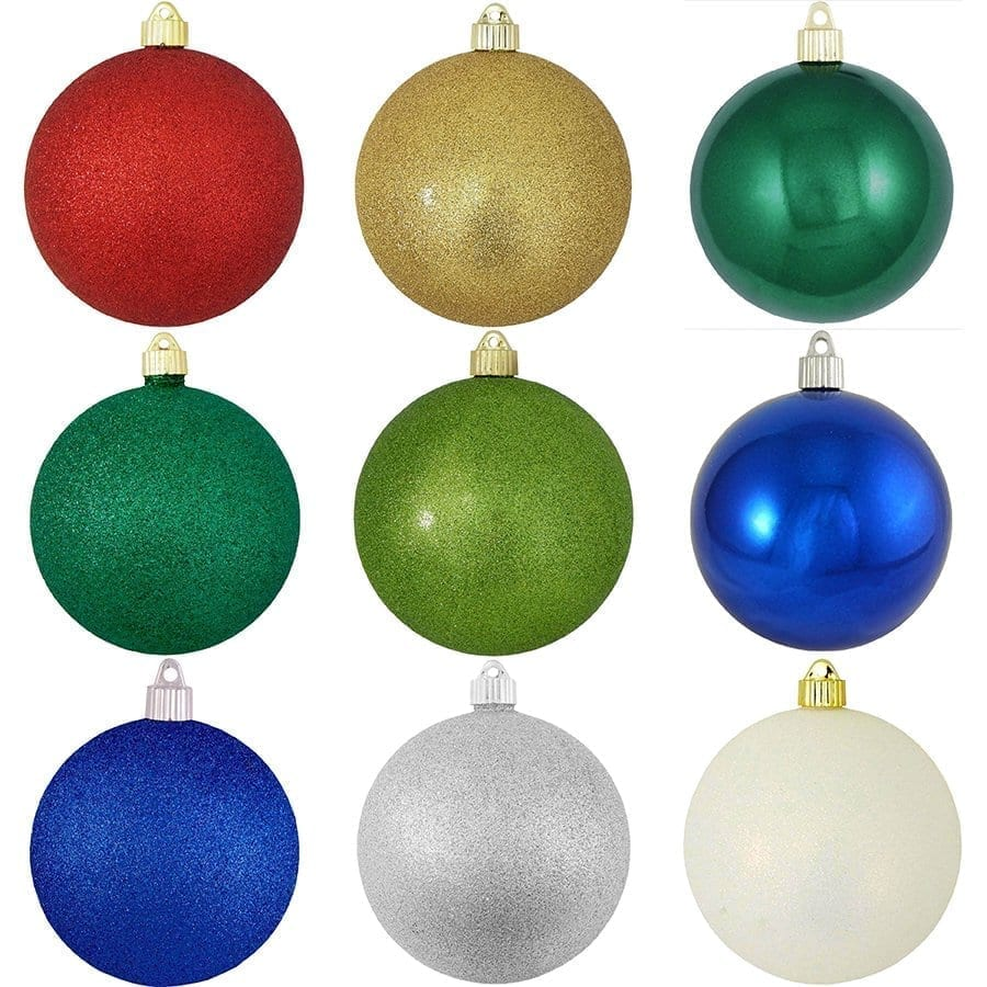 250mm Shatterproof Ornaments Specialty Colors reduced