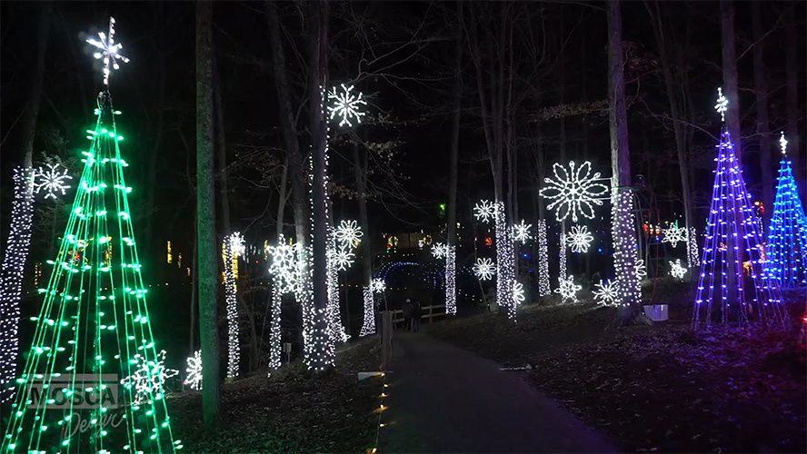 Illuminights Walk Through Holiday Light Show by Mosca Design